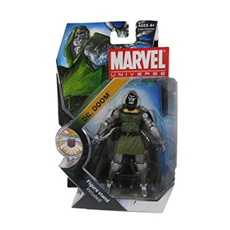 Hasbro - Figurine Marvel Universe Serie 3 - DR. Doom 10cm - 0653569598961
