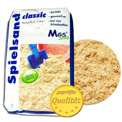 25 kg Spielsand TÜV geprüft TOP Qualität Quarzsand