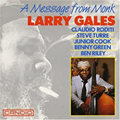 "Featured recording ""A Message From Monk"""