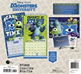 2014 Monsters University Wall Calendar