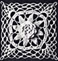 "Vintage Crochet PATTERN to make - Irish Crochet PATTERN MOTIF BLOCK Bedspread ""Louisiana Bayou"" Design. NOT a finished item. This is a pattern and/or instructions to make the item only."