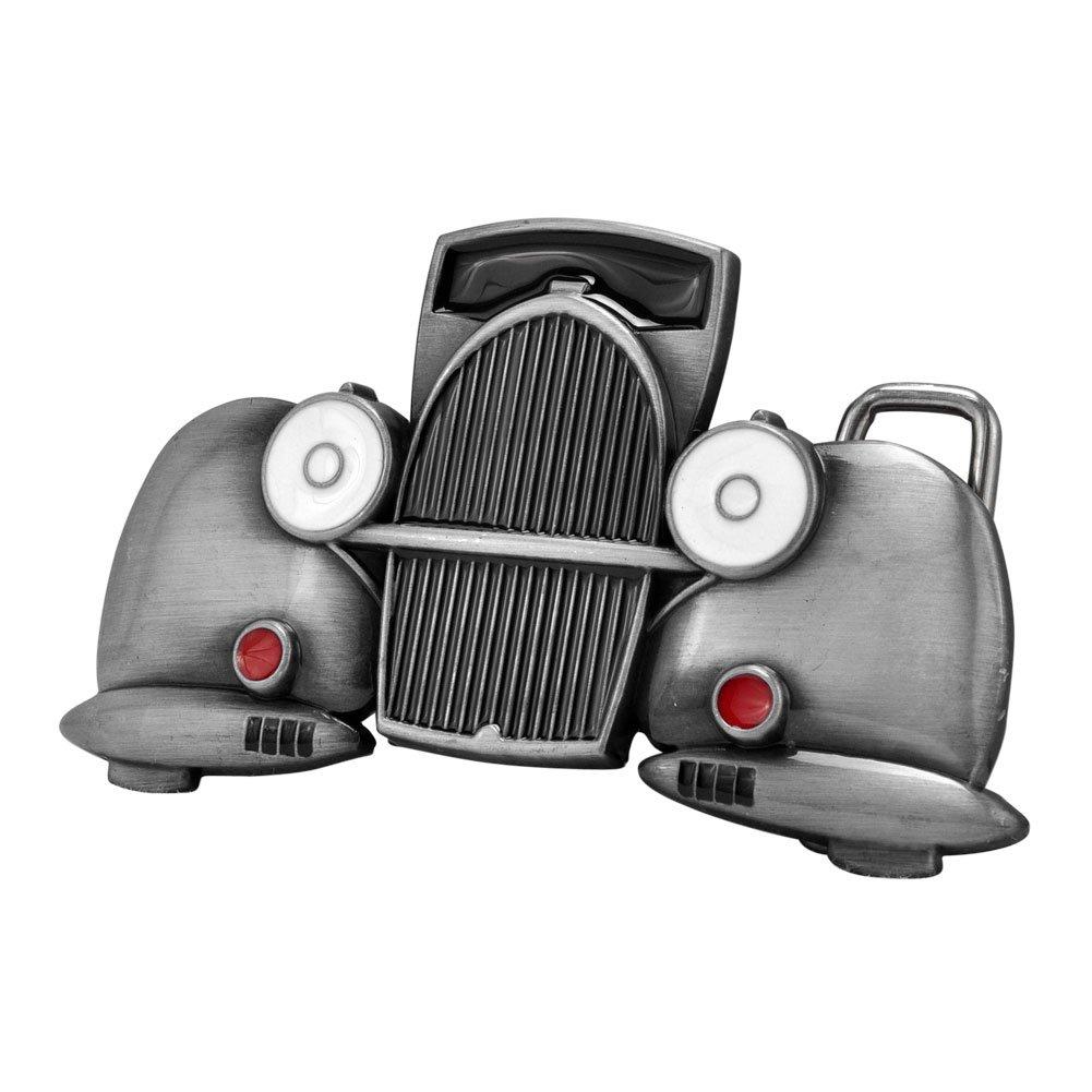 Buckle Rage Adult Unisex Classic Car Antique Truck Automobile Belt Buckle Silver 0
