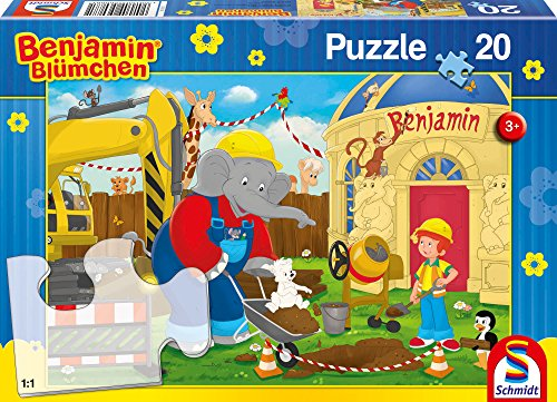 SCHMIDT Construction Children's Puzzle (20-Piece)