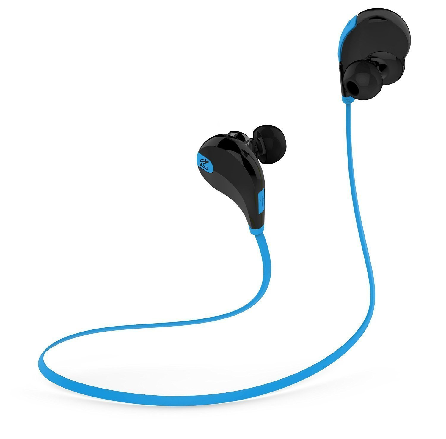 Lightweight and comfortable Bluetooth earphones , a bargain for the price
