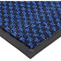 """Notrax 145 Preference Entrance Mat, for Inside Foyer Area and Main Entranceways, 3' Width x 10' Length x 5/16"""" Thickness, Blue"""