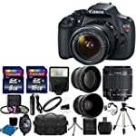 Canon EOS Rebel T5 DSLR CMOS Digital...