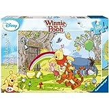 Ravensburger 10617 - Winnie Pooh Honigzauber - 100 Teile XXL Puzzle