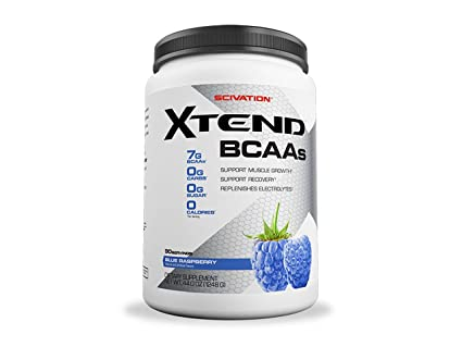 Scivation Xtend BCAA Drink 90 Servings Blue Raspberry