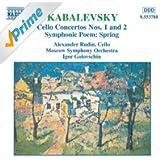 Kabalevsky: Cello Concertos Nos. 1 And 2 / Spring, Op. 65
