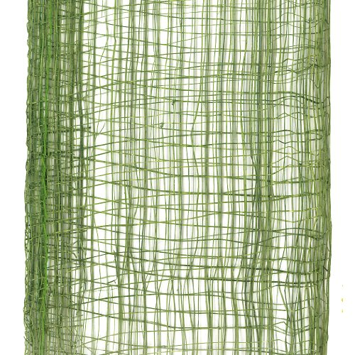 Offray Lions Web Mesh Craft Ribbon, 2-3/4-Inch Wide by 25-Yard Spool, Moss