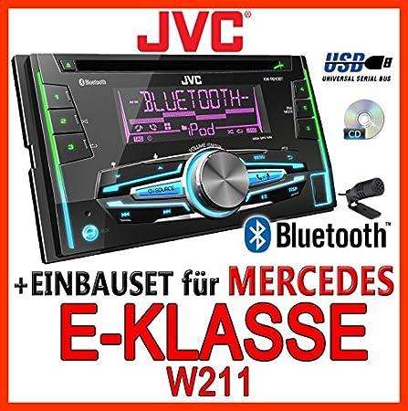 Mercedes-benz w211 classe e-jVC-kW-r910BT 2-dIN avec uSB
