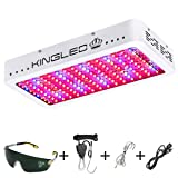 King Plus 1500W Double Chips LED Grow Light Full Spectrum for Greenhouse and Indoor Plant Flowering Growing (10w LEDs) (Tamaño: 1500w)