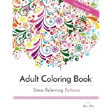 Libro para Colorear Stress Relieving Patterns para adultos