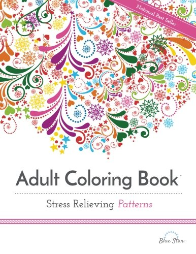 Adult Coloring Book: Stress Relieving Patterns (Colored Pencil Patterns compare prices)