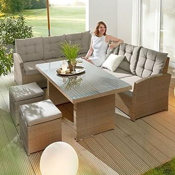 Kasandria® Gartenmöbel-Set Salvador 3-tlg.