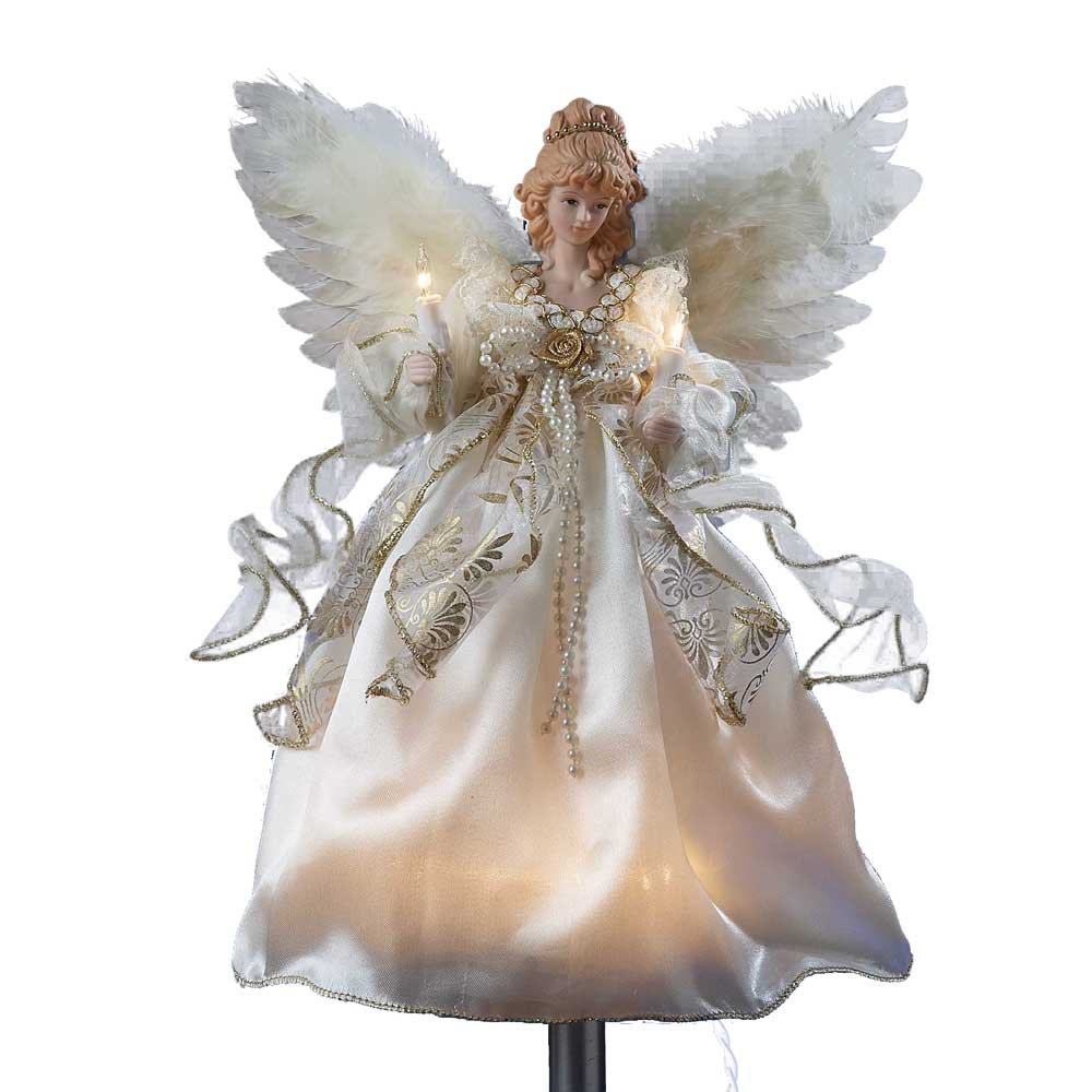 Christmas Tree Angel Tree Topper: Lighted Angel Tree Toppers