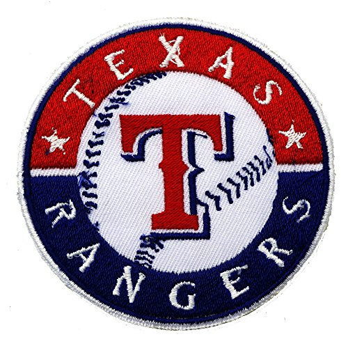 Pieces texas rangers mlb embroidered iron on patch