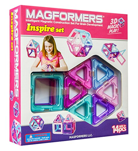 Magformers Inspire 14 Piece Set (Girls) front-424428