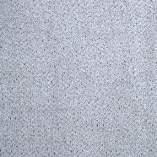 Warm Winter Fleece Solid Heather Grey Fabric By The Yard