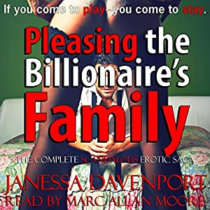 Pleasing the Billionaire's Family Audiobook