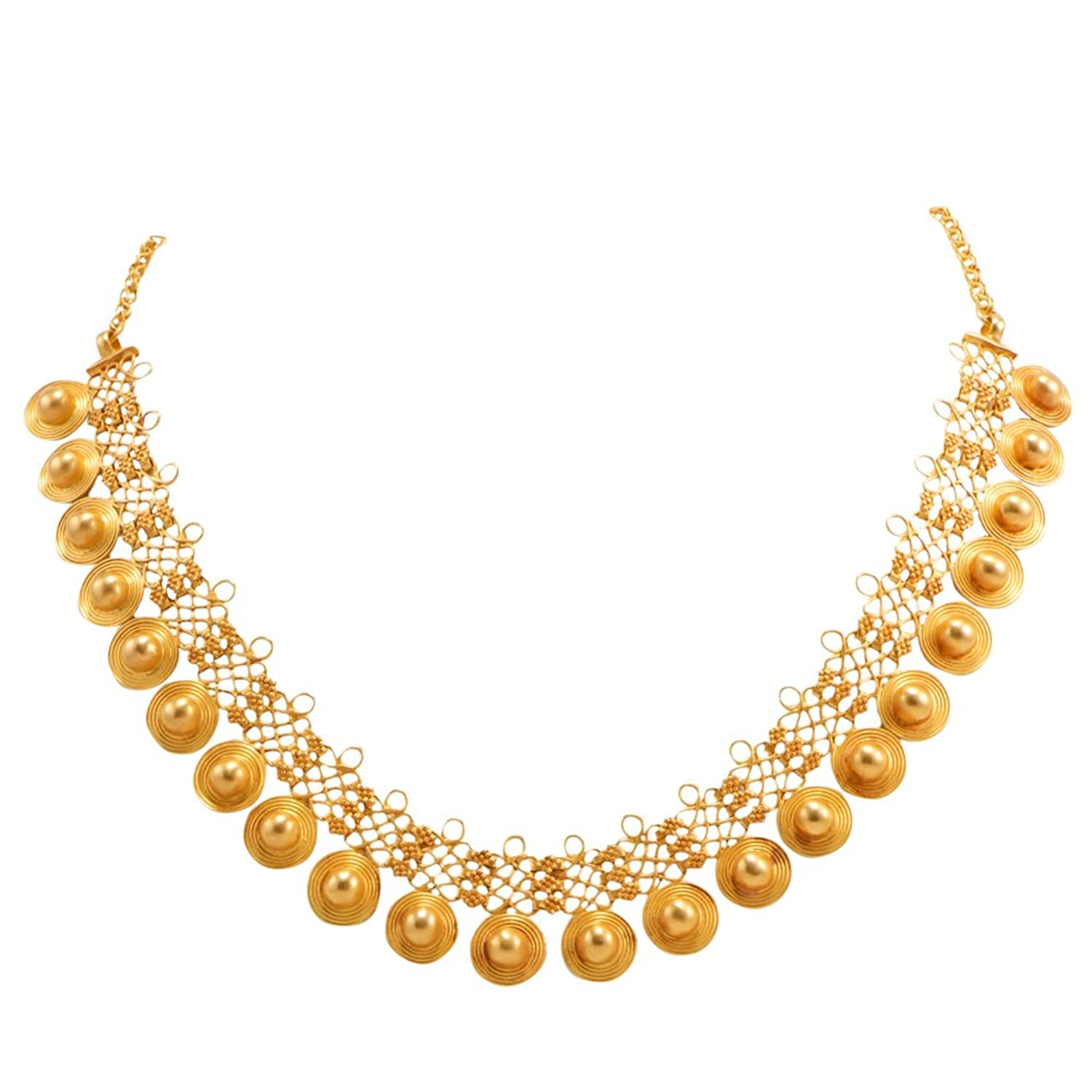 Inspirational Only Gold Necklace Designs | Jewellry\'s Website