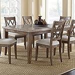 Steve Silver Company Franco Marble Top Table