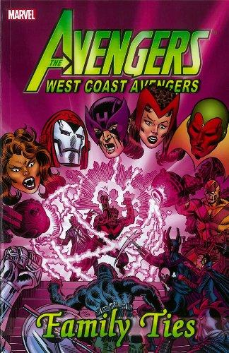 Avengers West Coast Avengers Family Ties