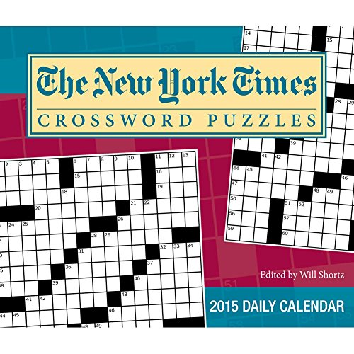 New York Times Crossword Puzzles 2015 Day-to-Day Boxed Calendar