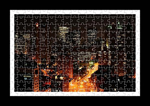 Collins Puzzle (YYP48724) Jigsaw 204 pieces Puzzle with Frame