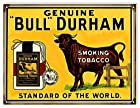 Genuine Bull Durham Tobacco Smoke Sign