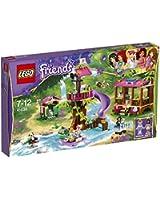 Lego Friends - 41038 - Jeu De Construction - La Base De Sauvetage De La Jungle