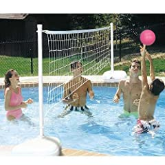 Buy Dunnrite AquaVolly Swimming Pool Volleyball Set by Dunnrite Products
