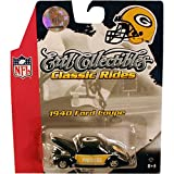 Packers NFL 1:64 1940 Ford Coupe Diecast