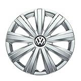 Genuine OEM VW Hub Cap Jetta-Sedan 2011-2014 9-Spoke Cover Fits 15-Inch Wheel (Color: Regular)