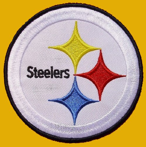 "PITTSBURGH STEELERS 3"" Crest NFL Embroidered PATCH at Amazon.com"