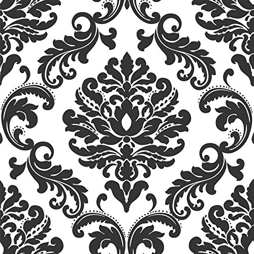 ariel-black-and-white-damask-peel-and-stick-wallpaper