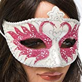 Pink Venetian Style Mask by Century Novelty