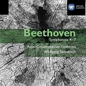 Beethoven: Symphonies 4 - 7