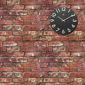Lowry brick 39 super realistic brick effect wallpaper - Papier peint imitation brique relief ...