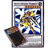 YuGiOh : SP13-EN048 1st Ed Seven Swords Warrior Common Card - ( 2013 Star Pack Yu-Gi-Oh! Single Card )