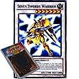 YuGiOh : SP13-EN048 1st Ed Seven Swords Warrior Star Rare Card - ( 2013 Star Pack Yu-Gi-Oh! Single Card )