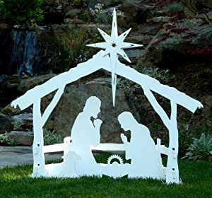 Large Outdoor Christmas Nativity Set by MyNativity