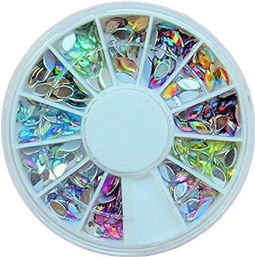 120-x-large-iridescente-strass-in-strass-ruota-3-x-6-mm-finiture-12-colori-10-pezzi-perfetto-per-uso