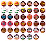 Two Rivers Hot Cocoa Sampler Pack, Single-Cup for Keurig K-cup Brewers, 40 Count