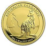オーストラリア カンガルー2016年製 24K 99.99%の純金製 1/10オンス 金貨 3.11g ゴールド コイン 純金 カプセル クリアーケース付き