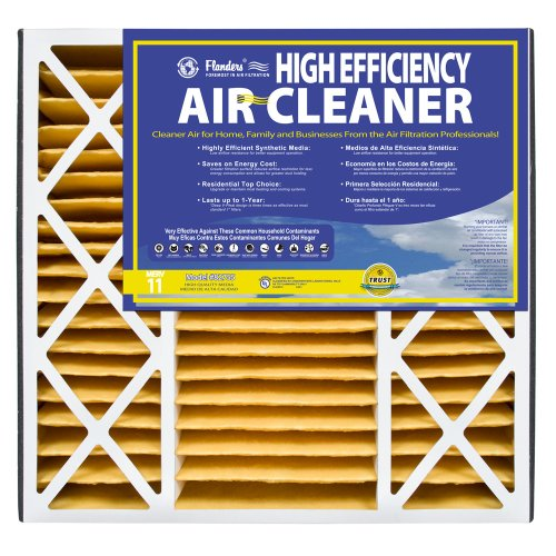NaturalAire High Efficiency Air Filter, MERV 11, 20 x 25 x 4.5-Inch, 3-Pack (Flanders Filters 20x25x5 compare prices)