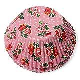 """100PCS Heat-resistant Cupcake Cups Baking liners Cake Baking Cups (Rose)"" shopping"