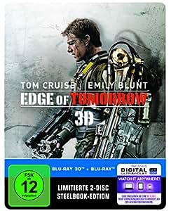 Edge of Tomorrow Steelbook (exklusiv bei Amazon.de) [3D Blu-ray]