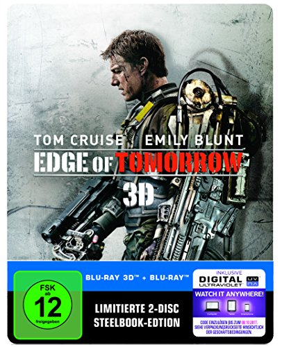 Edge of Tomorrow Steelbook (exklusiv bei Amazon.de) [3D Blu-ray] [Limited Edition]