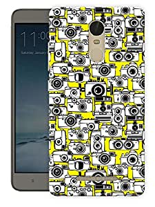 """Humor Gang Lots Of Cameras Printed Designer Mobile Back Cover For """"Xiaomi Redmi Note 3"""" By Humor Gang (3D, Matte Finish, Premium Quality, Protective Snap On Slim Hard Phone Case, Multi Color)"""